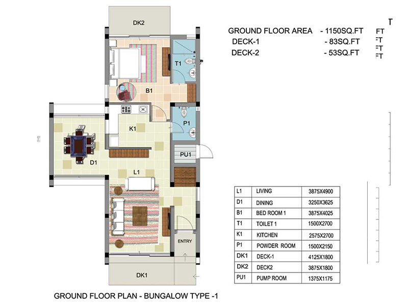 Orchid Ground & First Floor